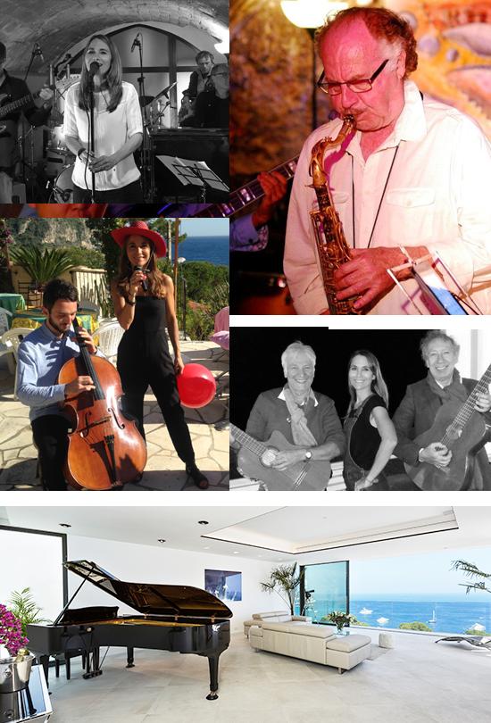 Musique Mariage : saxo, piano, violon, contrebasse